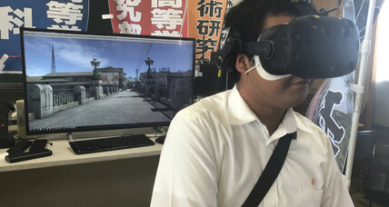 Japanese students create VR experience of Hiroshima bombing