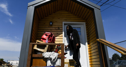 In Denver, it takes a tiny house village to combat homelessness