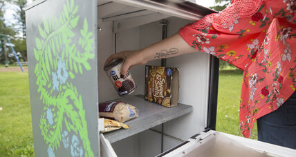 Little, free pantries feed the food-insecure in Wyoming community