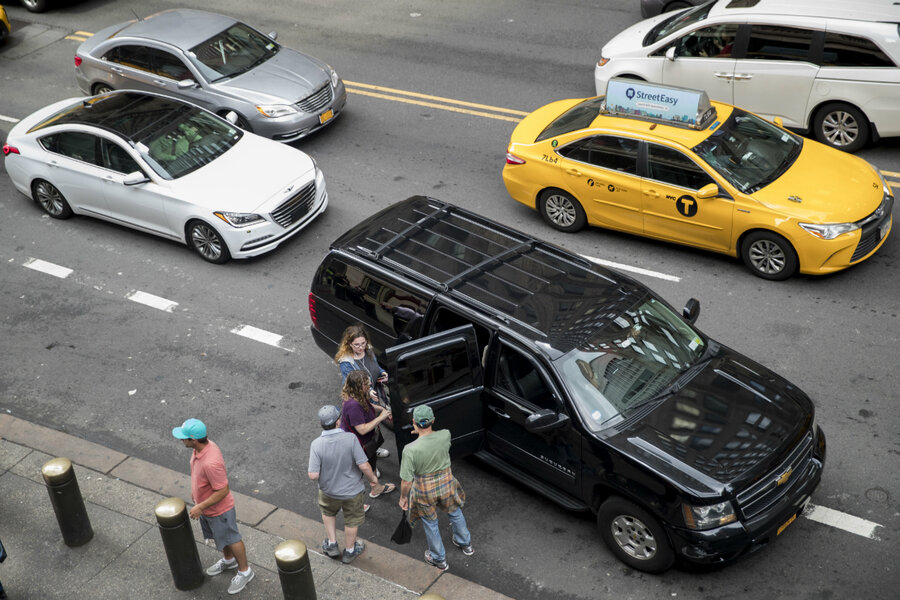 Nyc Moves To Regulate App Based Ride Services With Cap On Vehicles