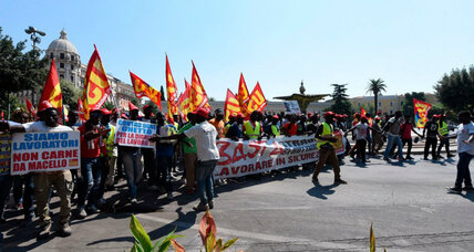 Deaths of African laborers highlight dire working conditions in Italy