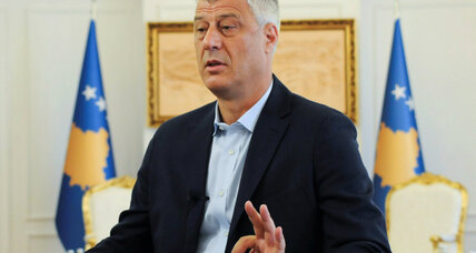 Kosovo president wants to redraw border with Serbia to ease tensions