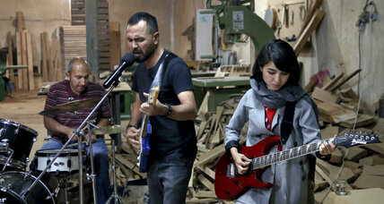 Afghan band rocks on despite discrimination