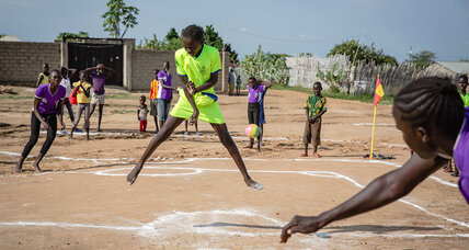 Boruboru: South Sudan's newest spectator sport is one for the girls