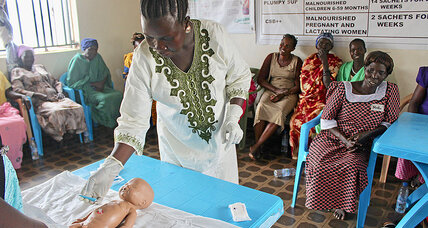 South Sudan's midwives, boosted by aid, wonder how long donors will deliver