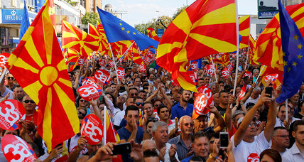 Macedonians vote on their country's name. Will they follow heart or head?