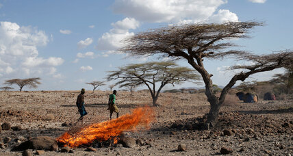 Challenging climate change in Kenya, one slingshot at a time