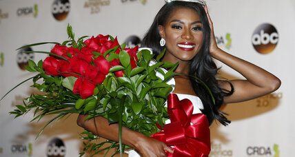With swimsuit competition gone, new Miss America embraces win