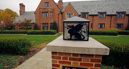 Frat houses refine the purpose of brotherhood