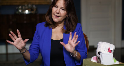 Karen Pence looks to lessen the burden on military spouses