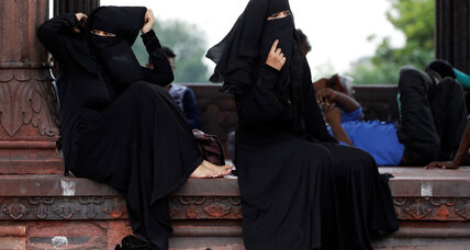 Instant divorce of Muslim women outlawed by India's Modi government