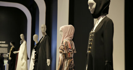 Contemporary Muslim women's fashion on display at San Francisco museum