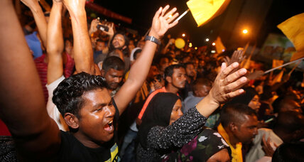 In high-stakes election in the Maldives, a win for democracy