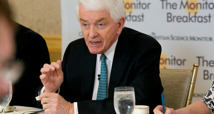 Breakfast with Tom Donohue: 'real trade war' would harm economy