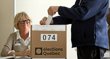 Independence's import wanes in Quebec, but identity still entangles politics