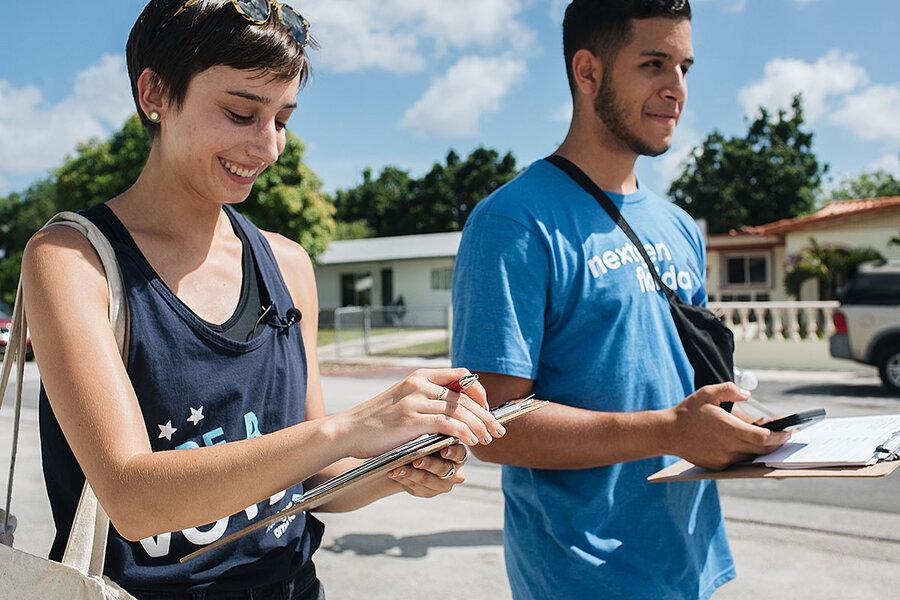 In Florida's kaleidoscopic politics, a window into America's future