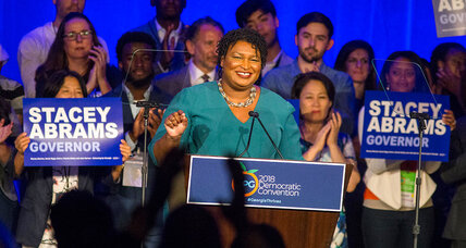 How Stacey Abrams has gotten within one point of Georgia governor's mansion