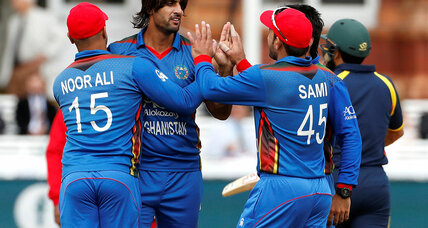 Meanwhile in ... Afghanistan, fans are rejoicing over what's being called the 'fairy tale' success story of the country's cricket team
