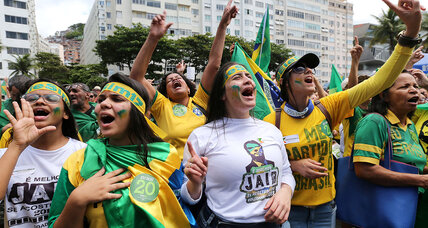 As Brazil votes, Bolsonaro fans are hungry for a hero