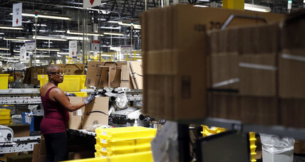 As hiring tightens, Amazon hikes minimum wage to $15 an hour