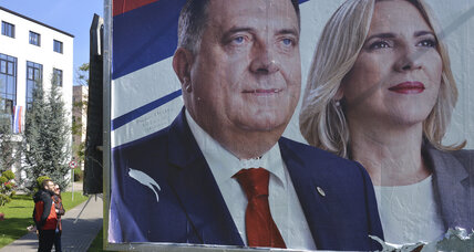 Weekend election to suggest the future of nationalism in Bosnia
