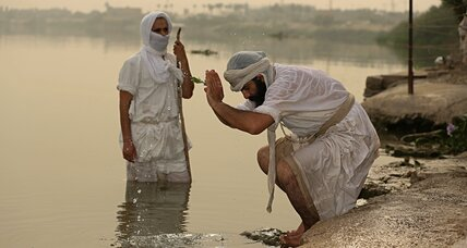 Water pollution threatens Mandaean religious practices in Iraq