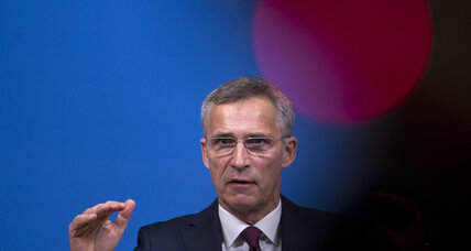 NATO chief doesn't expect arms race despite US threats