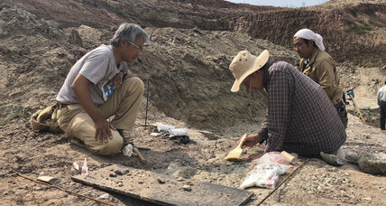 In China, newly discovered dinosaur bones rewrite history