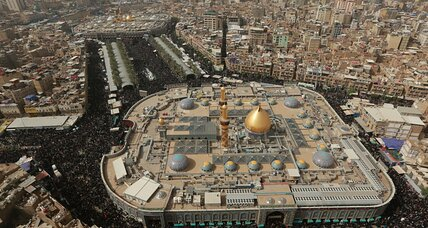 Millions of Shiite Muslims make peaceful trek to Iraq's Karbala