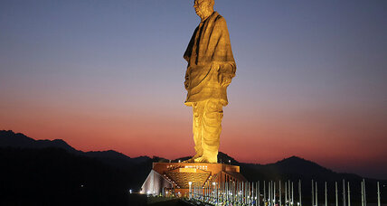 India's Modi stakes claim to future – and past – with world's tallest statue