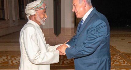 Oman's guiding hand in a churning Mideast