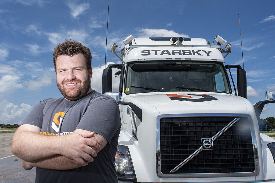 Self-driving trucks in US offer window into where machines may replace humans
