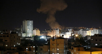 Rocket fire between Israel and Hamas escalates thoughts of war