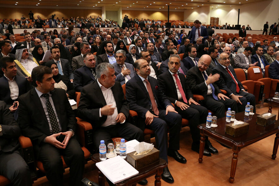 Growing Iranian influence as Shi'ite militias head to Iraqi parliament