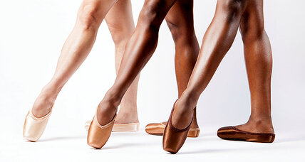 Meanwhile in … London, dancers of color now have ballet shoes that match their skin tones