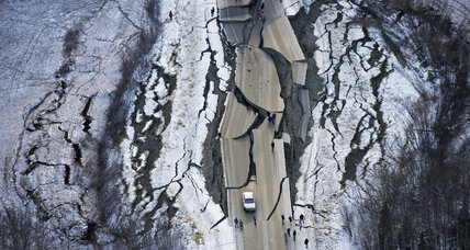 Largely intact, Alaska begins rebuilding roads after Friday's earthquake