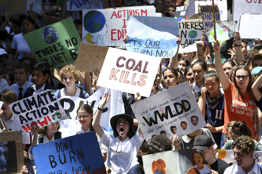 Children demand climate change action through protests and lawsuits