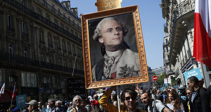 In France, mass demonstrations are part of the cultural fabric