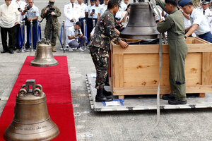 During a battle of the Philippine-American war in 1901, the US Army reportedly killed thousands of villagers and took three church bells. On Dec. 11, the United States returned the Bells of Balangiga in a symbolic gesture of friendship and understanding.