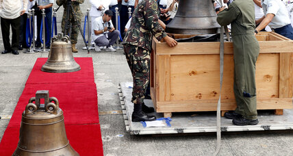 US returns revered church bells to Philippines 117 years after war