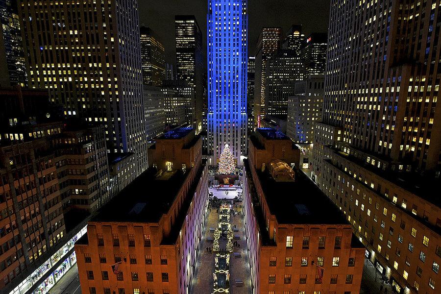 America's Christmas tree: The hunt for the iconic Rockefeller tree - CSMonitor.com