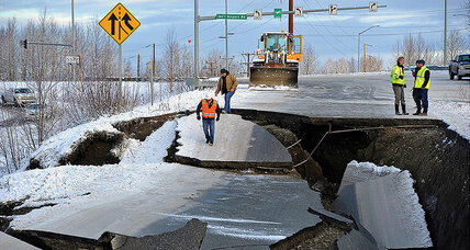 Meanwhile in … Anchorage, Alaska, road crews fixed earthquake-damaged highways in just days
