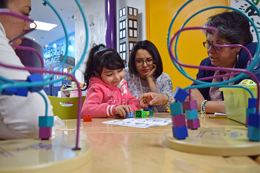 Mexico tells early learners: You need to play more.