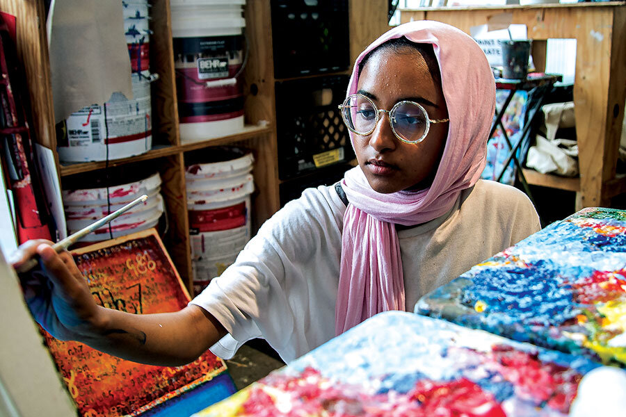 Under-resourced students find confidence and employment in this art program