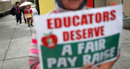 Behind LA teachers strike, a 'battle for the soul' of public education