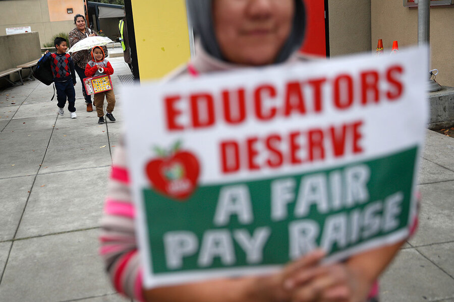 Behind LA teachers strike, a 'battle for the soul' of public education