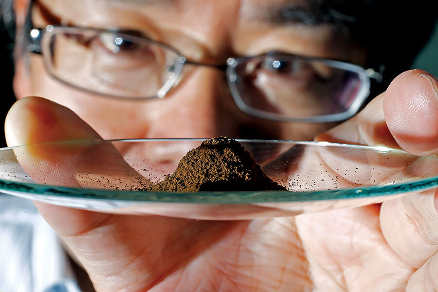 Meanwhile in … Japan, an enormous rare-earth mineral deposit has been found