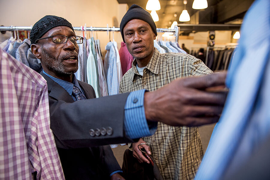 Sharp Dressed Man gives tailored suits to those in need