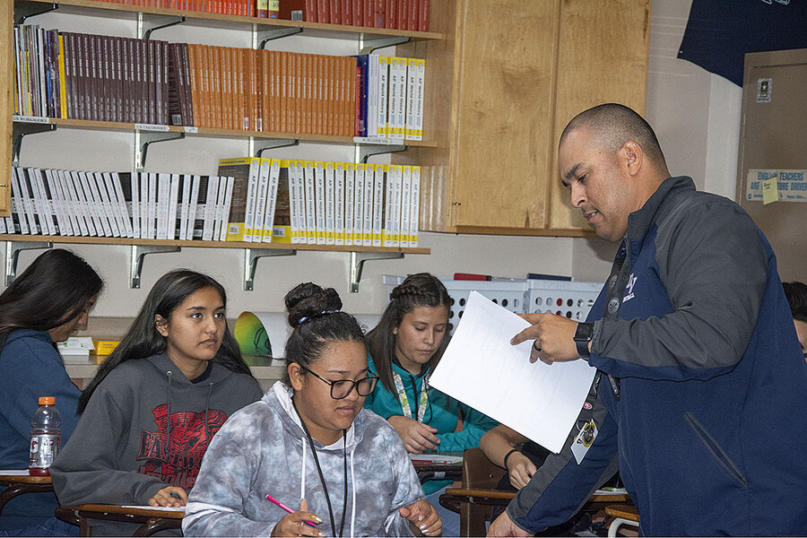 Pioneering spirit: How one school helps Latino students tackle AP tests