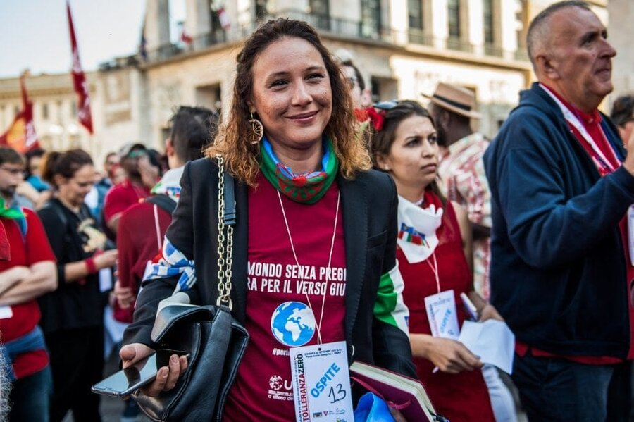 Dijana Pavlovic works to give the Roma a more political voice